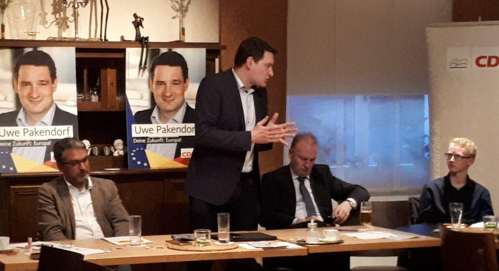 Uwe Pakendorf bei unserer Jahreshauptversammlung